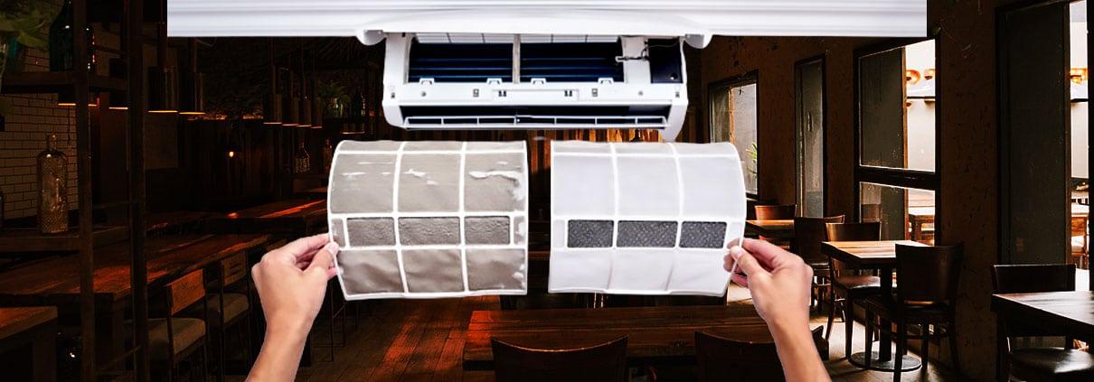 sanificazione aria nei ristoranti